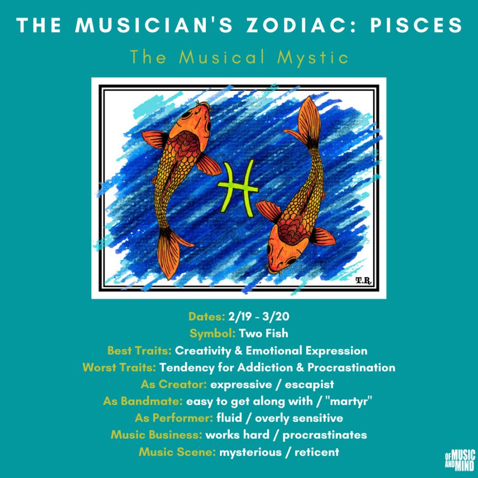 The Musician's Zodiac: Pisces