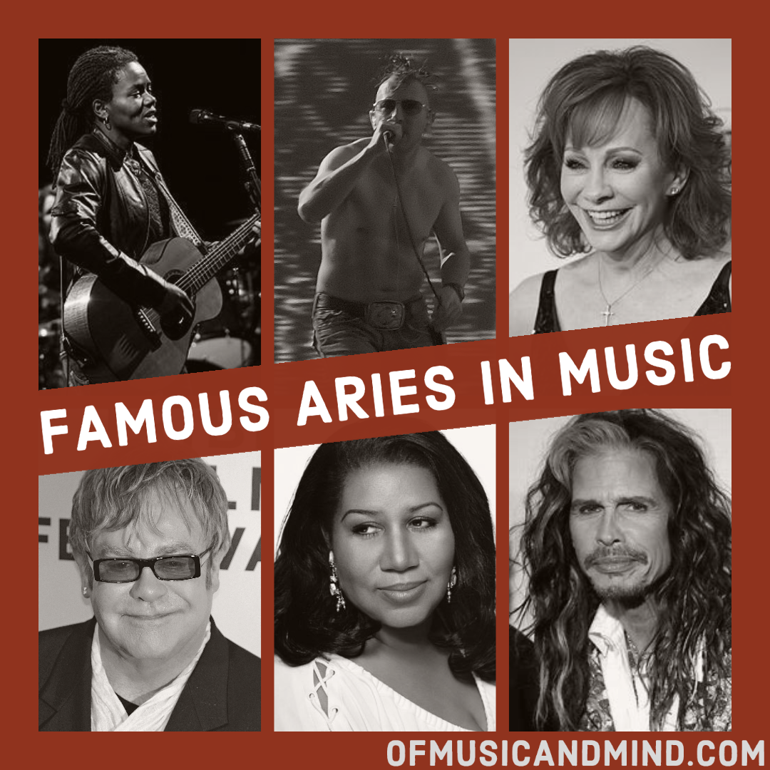 Famous Aries in Music