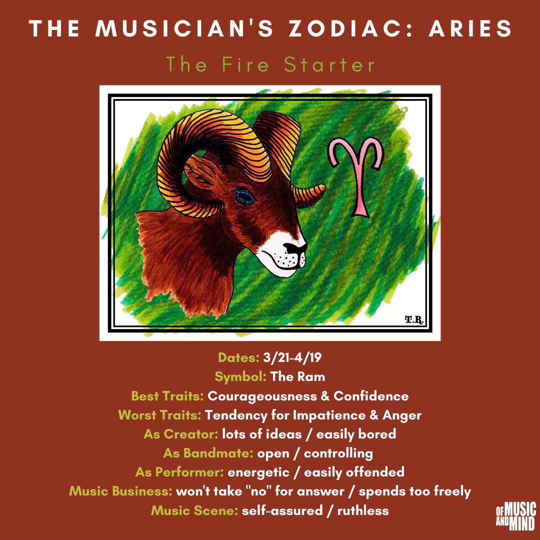 The Musician's Zodiac: Aries