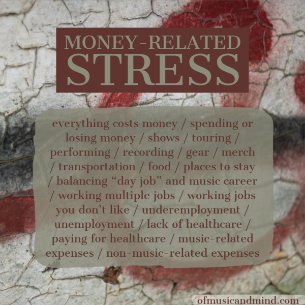 Money-Related Stress. Photo by Trevor Richards.