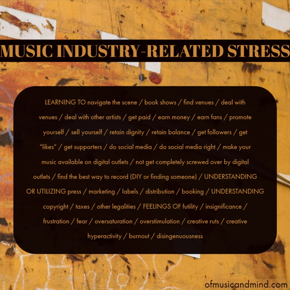 Music Industry-Related Stress