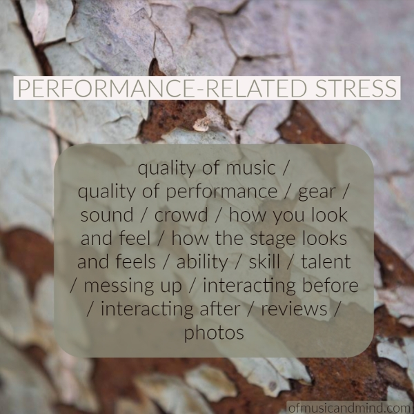 Performance-Related Stress. Photo by Trevor Richards.