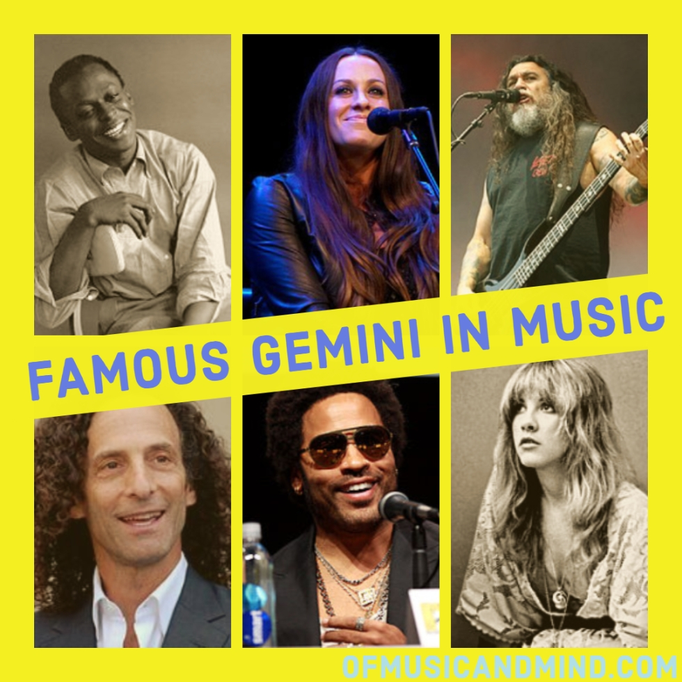 Famous Gemini in Music