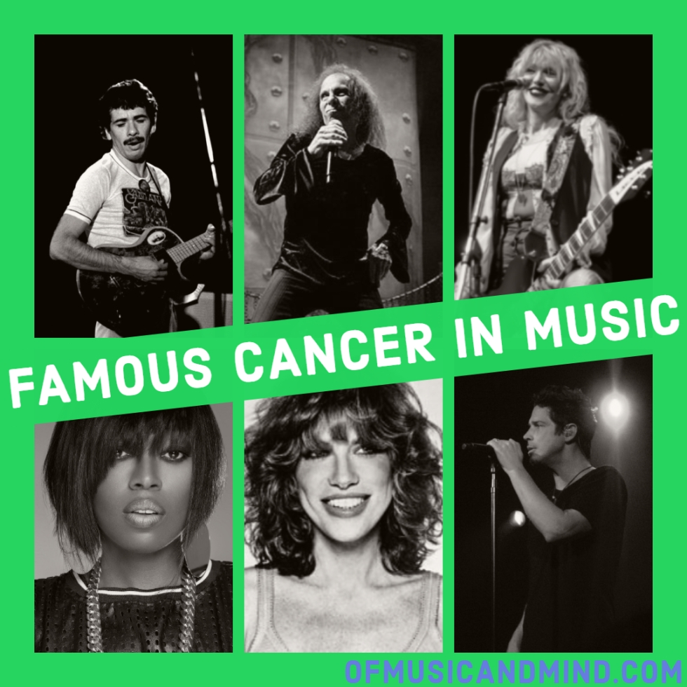 Famous Cancer in Music